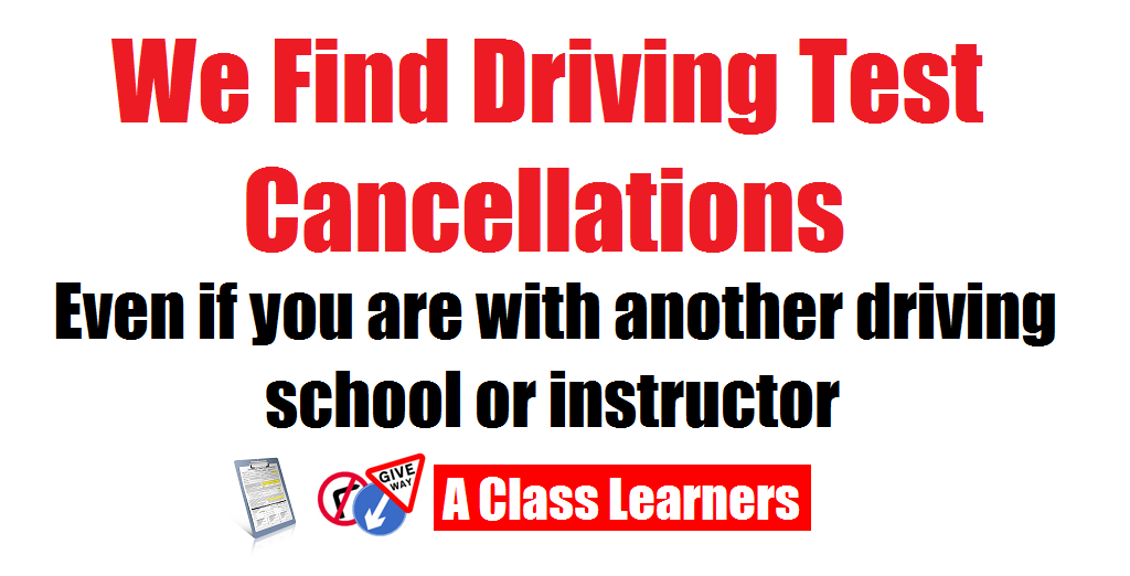 driving test cancellations image
